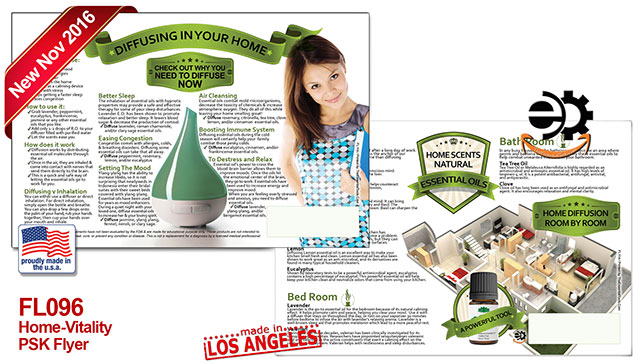 Image of essential Oils Flyer Best Essential Oils for head to toe.