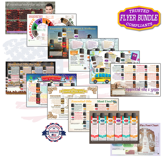 Essential Oils Flyers Bundle Mix and match