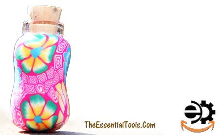 Hand Painted bottle vial for Essential Oils