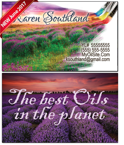 The essential tools young living essential oils business cards young living essential oils business card bc019 colourmoves