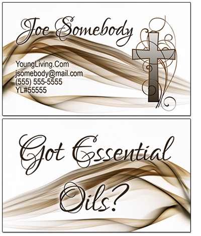 Young Living Essential Oils Business Cards
