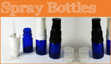 Essential Oils spray bottles