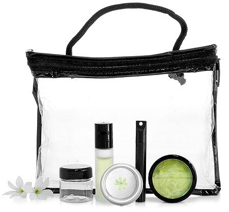 Clear Vinyl Bag for Essential Oils and Marketing Material