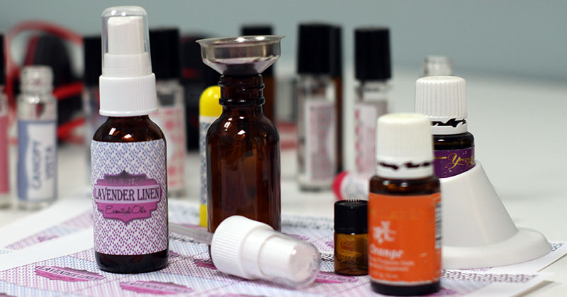 DIY Lavender Linen with Essential Oils Make And Take
