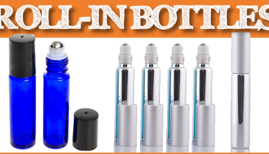 Roll In bottles for essential oils