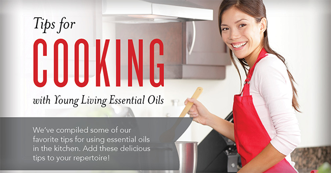tips for cooking with essential oils