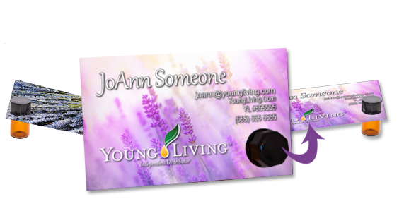 the essential tools young living essential oils business cards, Invoice templates