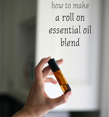 How to Make a Roll On Essential Oil Blend