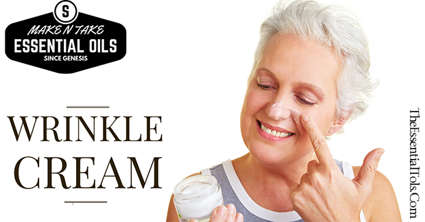 DIY Anti-Wrinkle Cream with Essential Oils for Make and Take
