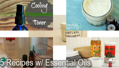 75 beauty recipes with essential oils