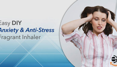 Esay DIY Anxiety and Anti Stress Aroma Inhalers