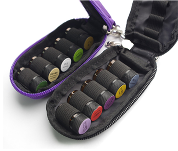 Essential Oil Carrying Case - Soft 30 Holds 5ml, 10ml, 15ml Aromatherapy Bottles