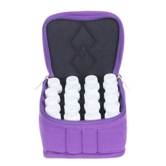 16-bottle essential oils carrying case