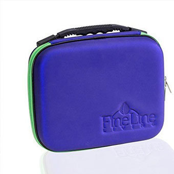 30 bottle essential oils carrying case