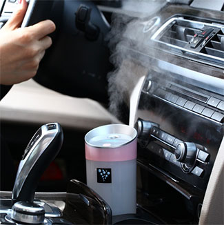 Car humidifier USB Aromatherapy diffuser essential oil diffuser air Ultrasonic humidifier 300ML