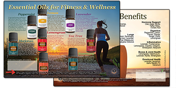 Essential Oils for fitness and wellness
