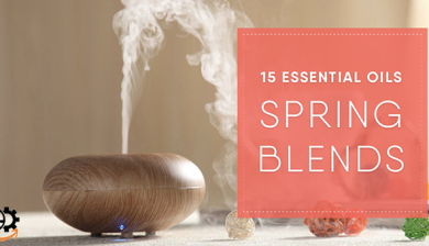 15 essential oils blends for spring