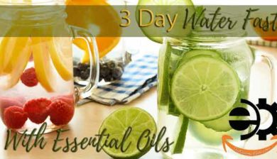 3 day water fast with essential oils