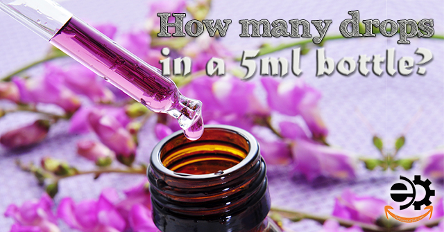 how many drops in a 15ml bottle of essential oils