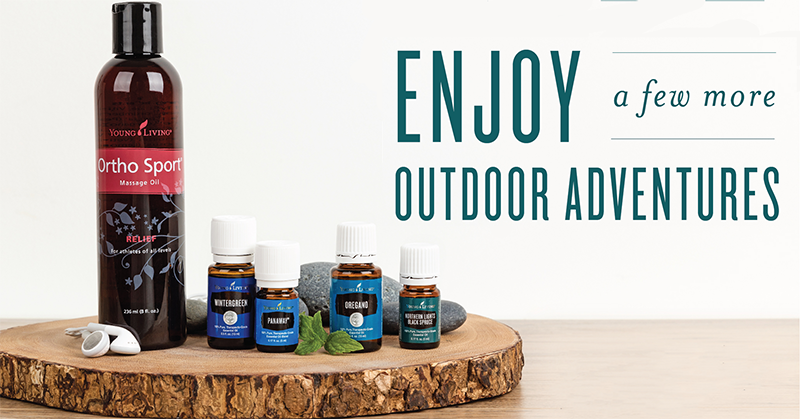 More Essential Oils for Outdoors from Young Living
