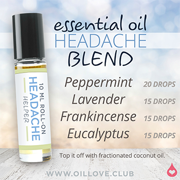 Another Essential Oil Headache blend by <a href=