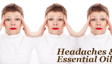 essential oils for migraine and headaches