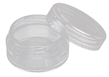 Essential Oils Clear Plastic Travel Cosmetic Sample Containers