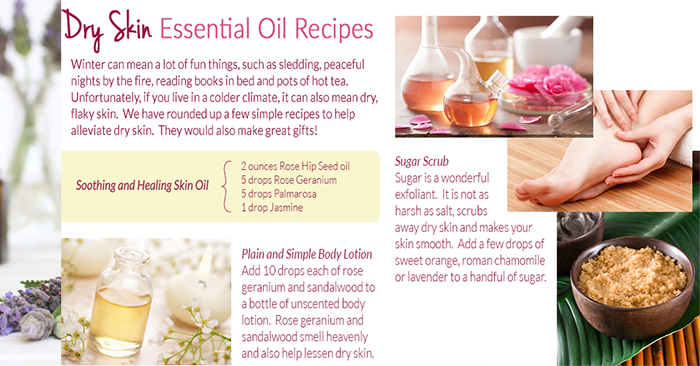 dry skin essential oils