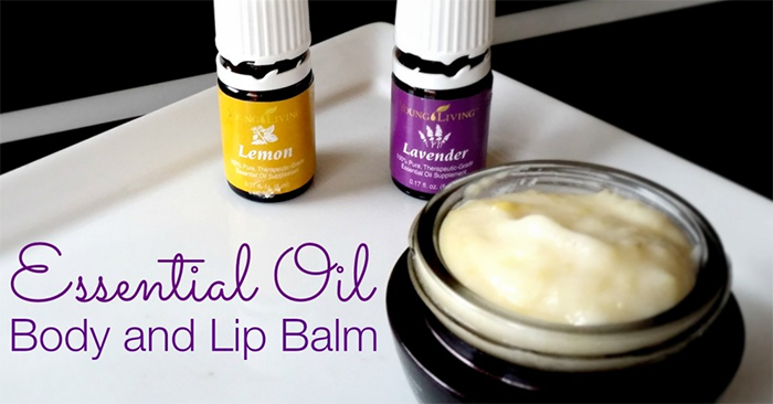 DIY Dry Skin Essential Oil Balm