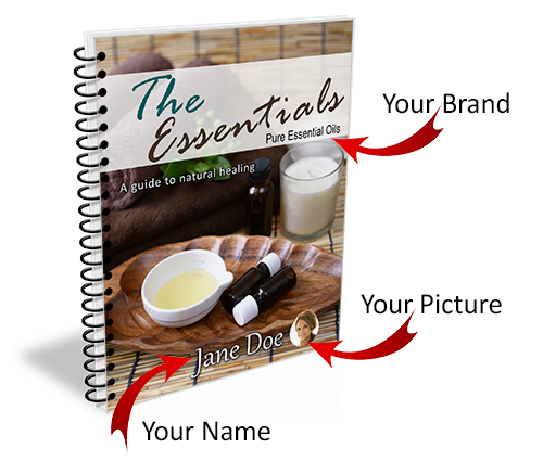 Image of your name on this ebook done for you essential oils