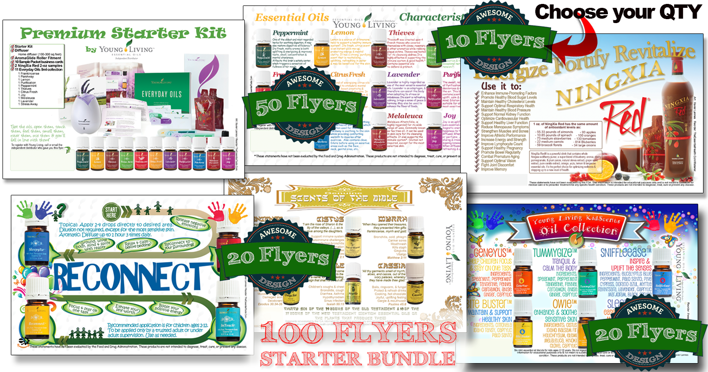Essential Oils Flyers