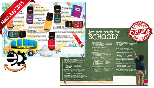 The 10 best Essential Oils for Back-To-School. Click on the image to see it bigger!!