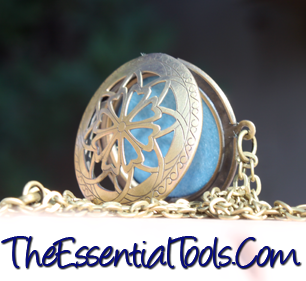 necklace for aromatherapy and essential oils
