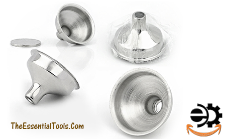 Mini Stainless Steel Funnel Silver Flask Funnel For All Kind Of Essential Oils Vials