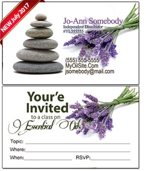 Young Living Essential Oil Business card