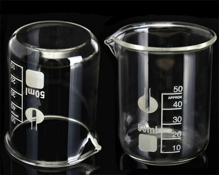 50ml Glass Beaker for Essential Oils and Make N Take Parties