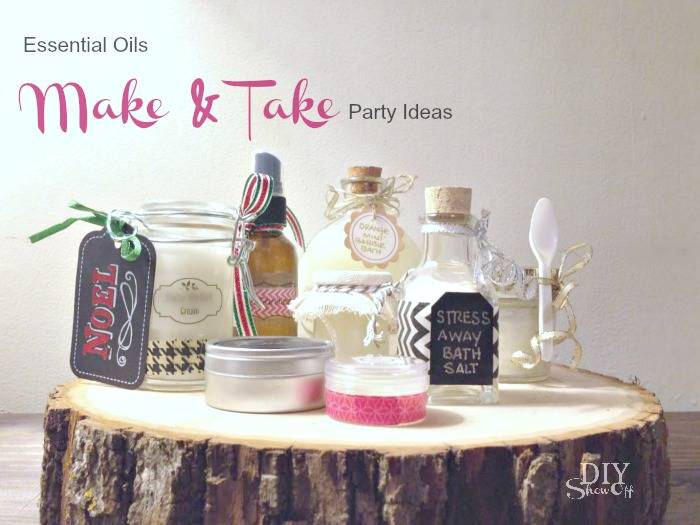 Essential Oils Make And Take Party