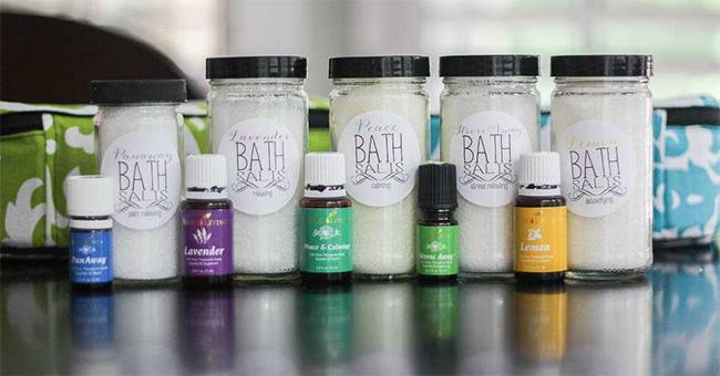 Make and take essential oils from unskinny boppy