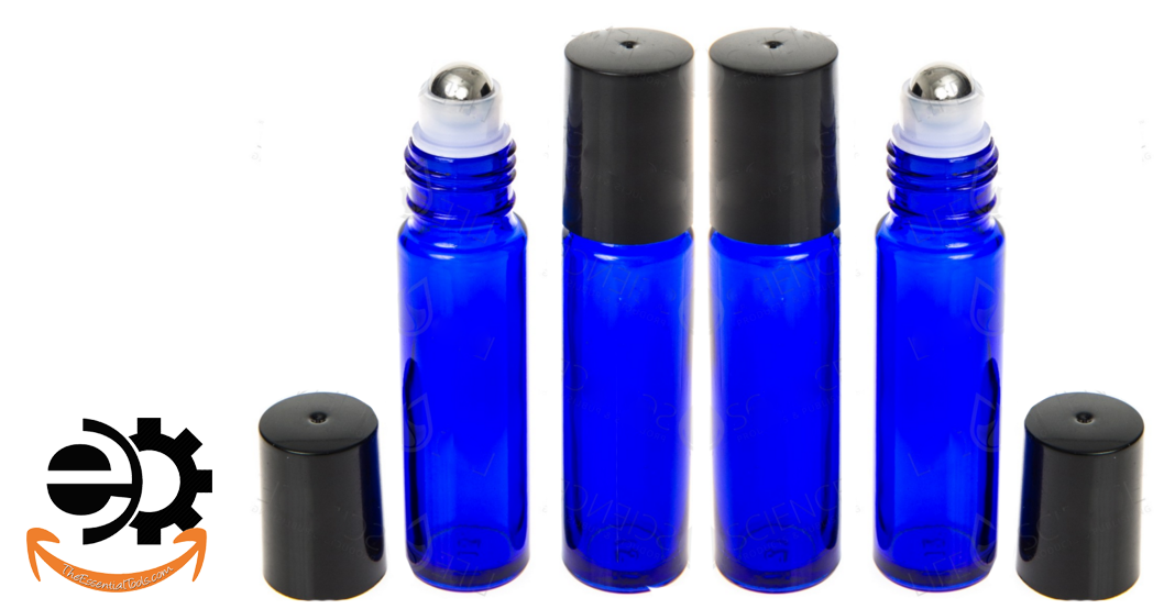 The Essential Tools Roll On Bottles For Essential Oils
