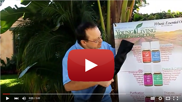 How to assemble a Young Living Essential Oils Banner