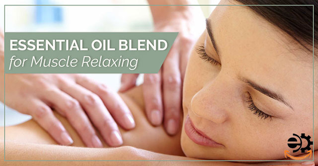 Muscle Relaxing Essential Oil Blend