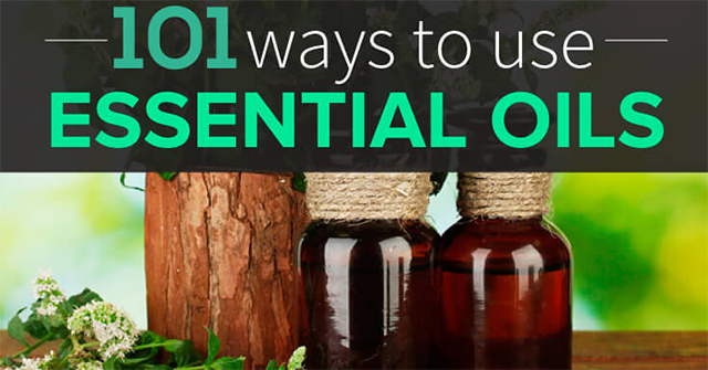 101 ways to use Essential oils