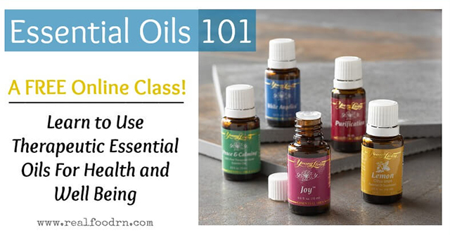 Real Food RN has a website with a lot of Essential Oils classes