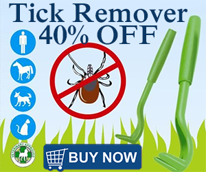 tick twister and remover 40% off
