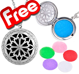 Aromatherapy Necklace Essential Oils