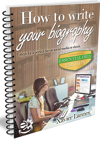 7 steps to write your biography for essential oils distributors