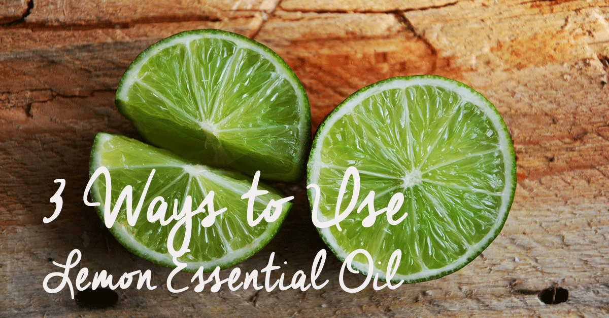 3 ways to use limon essential oil